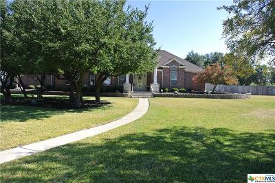 Copperas Cove Single Family Home For Sale: 342 Skyline Drive