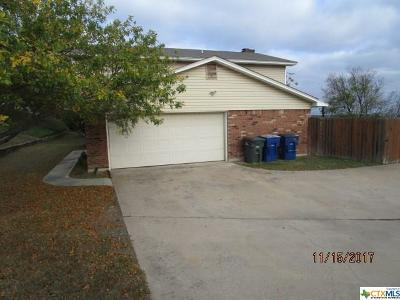 Copperas Cove Single Family Home For Sale: 505 Yucca Drive