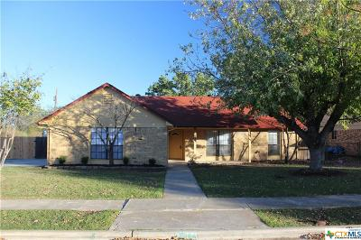 Killeen Single Family Home For Sale: 3002 Sungate