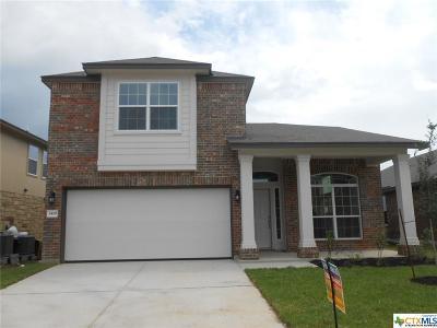 Killeen TX Single Family Home For Sale: $192,795