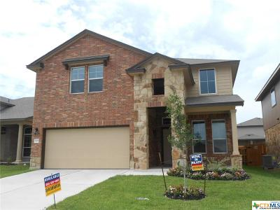 Killeen Single Family Home For Sale: 3409 Lorne Drive