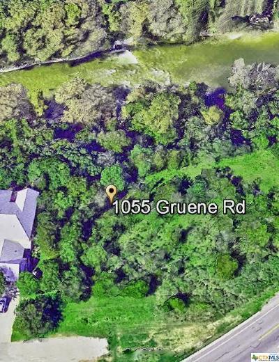 New Braunfels Residential Lots & Land For Sale: 1055 Gruene