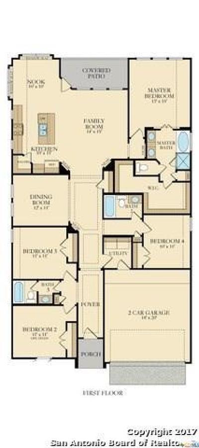 New Braunfels Single Family Home For Sale: 2038 Carter Lane