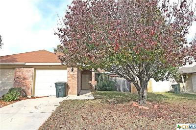 Killeen Single Family Home Pending Take Backups: 309 Deloris Drive
