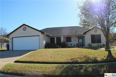 Copperas Cove Single Family Home For Sale: 810 Northern Dancer Drive