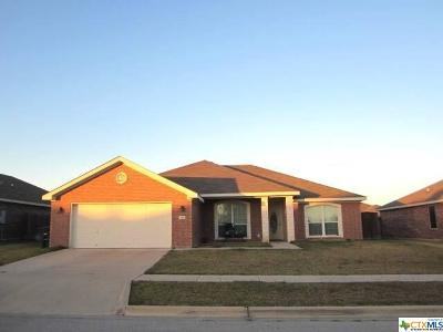Killeen TX Single Family Home For Sale: $153,000