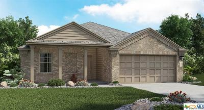 Killeen Single Family Home For Sale: 3408 Cotton Patch
