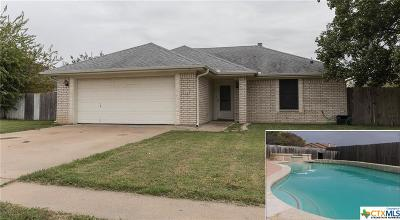 Copperas Cove Single Family Home For Sale: 302 Blancas Drive