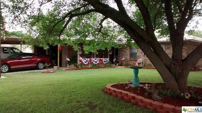 Copperas Cove TX Single Family Home For Sale: $134,900