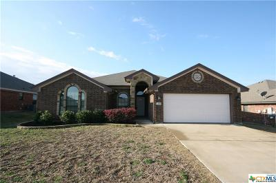 Killeen Single Family Home For Sale: 2906 Ancestor