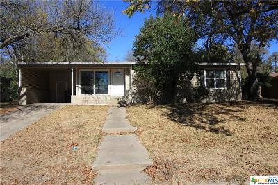 Temple Single Family Home For Sale: 106 Zenith