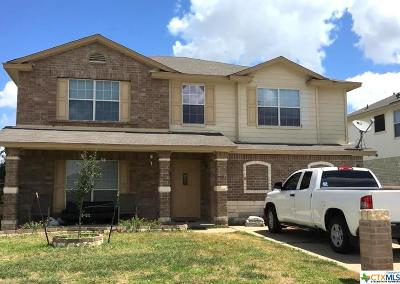 Killeen Single Family Home For Sale: 4505 Golden Gate Drive