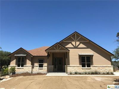 New Braunfels Single Family Home For Sale: 819 Hilltop Ridge