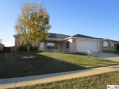 Copperas Cove Single Family Home For Sale: 2003 Jake Drive