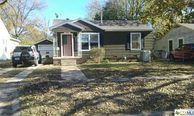 Temple Single Family Home For Sale: 1005 49th Street
