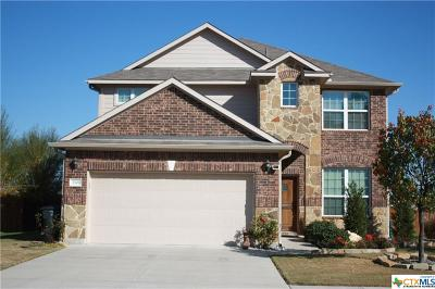 Killeen Single Family Home For Sale: 2501 John Helen Drive