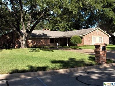 Temple Single Family Home For Sale: 3702 Del Norte