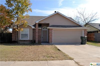 Killeen Single Family Home For Sale: 2404 Pixton Drive