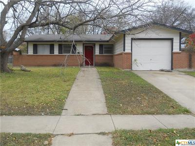 Killeen Single Family Home For Sale: 1519 Meadow Drive