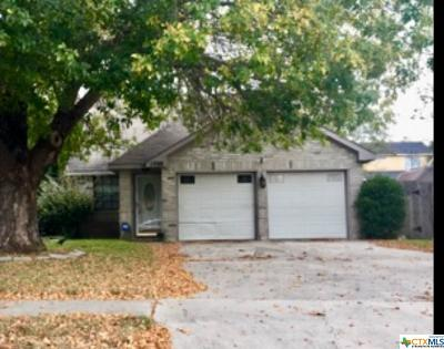 Killeen Single Family Home For Sale: 1708 Wickfield Way