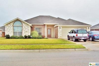 Copperas Cove Single Family Home For Sale: 2506 Merle