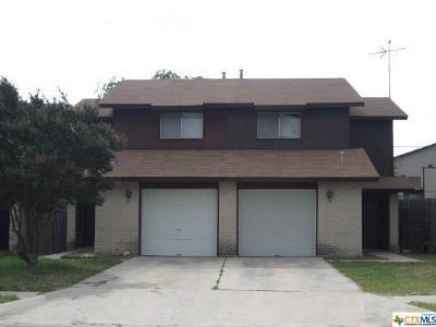 Killeen TX Single Family Home For Sale: $56,900