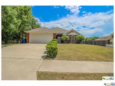 Copperas Cove Single Family Home For Sale: 1512 Virginia Avenue