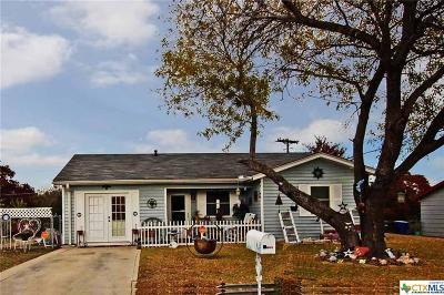 Copperas Cove Single Family Home For Sale: 833 Michelle