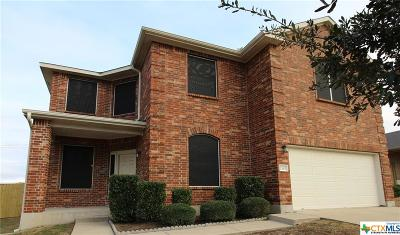Harker Heights Single Family Home For Sale: 2507 Red Fern Drive