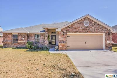 Harker Heights Single Family Home Pending Take Backups: 1505 Aztec Trace