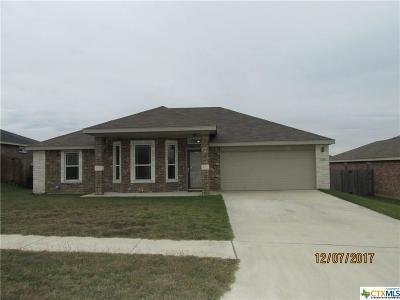 Killeen Single Family Home For Sale: 2706 Coal Oil Drive