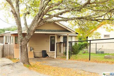 Canyon Lake TX Single Family Home For Sale: $134,900