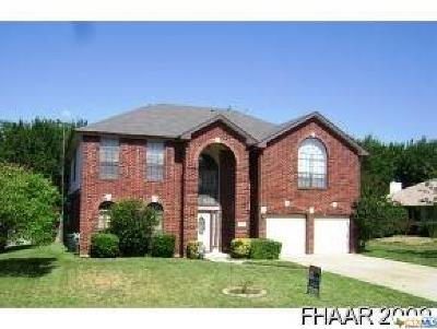 Harker Heights Single Family Home For Sale: 2206 Cheyenne