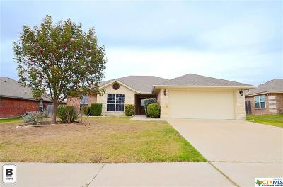 Copperas Cove TX Single Family Home For Sale: $146,000