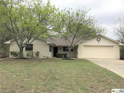 Harker Heights Single Family Home For Sale: 1704 Lark Circle