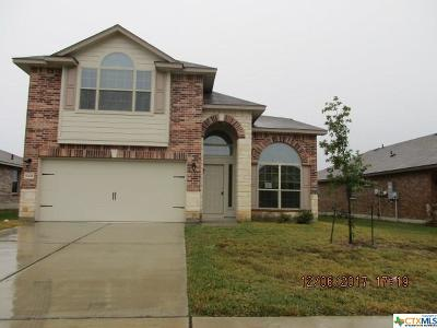 Killeen TX Single Family Home For Sale: $158,500