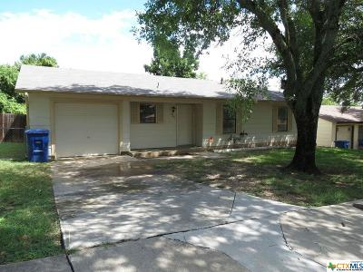 Copperas Cove Single Family Home For Sale: 805 19th Street