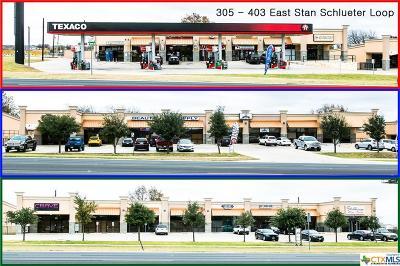 Killeen Commercial For Sale: 305,311,403 E. Stan Schlueter Loop