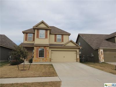 Killeen Single Family Home For Sale: 3409 Castleton Drive