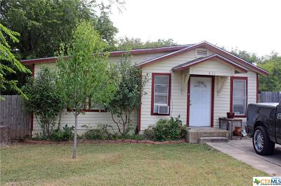 Copperas Cove Single Family Home For Sale: 411 Hill Street