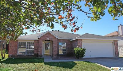 Harker Heights Single Family Home For Sale: 102 Snake Dance