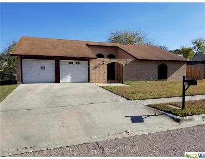 Killeen Single Family Home For Sale: 1502 San Antonio