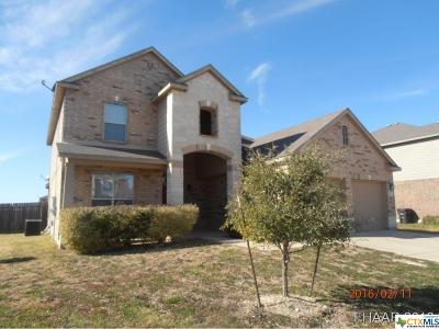 Killeen Single Family Home For Sale: 6111 Bridgewood Drive