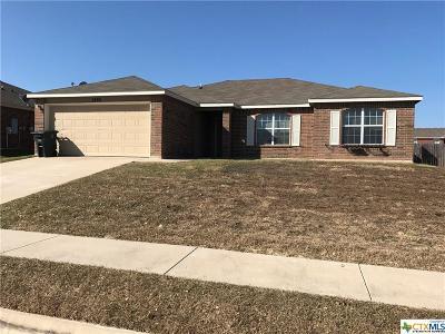 Killeen Single Family Home For Sale: 5403 Holster