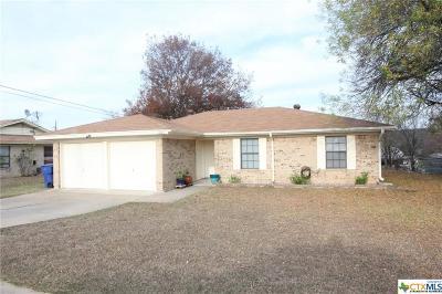 Copperas Cove Single Family Home For Sale: 1006 Shiela