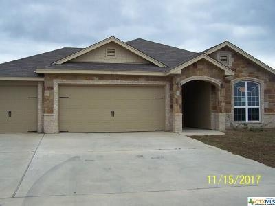 Killeen Single Family Home For Sale: 2506 Uvero Alto