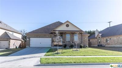 Harker Heights Single Family Home For Sale: 3265 Vineyard