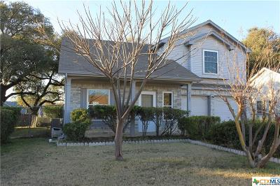Killeen Single Family Home For Sale: 2207 Chafin Drive