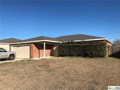 Killeen Single Family Home For Sale: 4307 Matt Drive