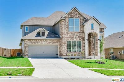 Killeen TX Single Family Home For Sale: $272,400